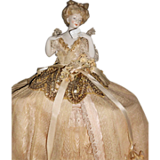 Lavish Schneider All Original Half Doll Lamp