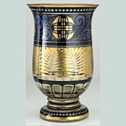 1920s Hermann Pautsch Haida Enamelled Glass Vase