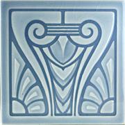 c.1905 NSTG German Art Nouveau Tile #9