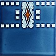 c.1900 MOPF German Art Nouveau Tile #4