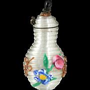 C.1890 Miniature Venetian Coil Glass Scent Perfume Bottle