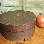Great Granny's Early Old Bentwood Primitive Farmhouse Pantry Box