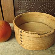 Early Old Primitive Wooden Daniel Cragin Grain Measure