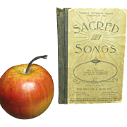 Early Old Small Sized YMCA Sacred Song Book - Religious - Newville, PA