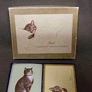 "SOLD Vintage ""Chessie"" Chesapeake & Ohio Railway Playing Cards"