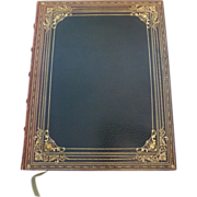 """Rare Antique 1876 book """"English Lake Scenery"""" Elijah Walton"""