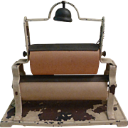 Rare Salesman Sample Miniature Double Paper Roller