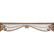 Oak Fretwork Grill Antique 1890's Architectural Salvage