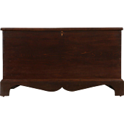 Chest, Trunk or Coffee Table,  Hand Crafted 1880 Antique