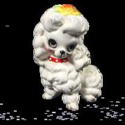 Josef Originals Ceramic Poodle Figurine