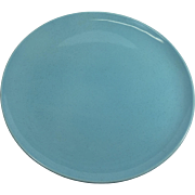 Vintage Retro Turquoise Serving Plate for North Star Salem