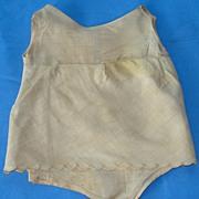 SALE PENDING Factory undergarment -  vintage 1920's or 30's panty/slip combo