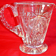 SALE Exquisite Vintage Royal Brierley Cut Crystal Pitcher