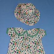 SALE Adorable Vintage Costume for Composition Dolls - Effanbee, ETC.