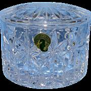 Classy Waterford Trinket Jar
