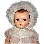"""22"""" Composition Ideal Princess Beatrix Doll with Flirty Eyes - ALL Original!"""