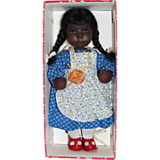 Rare Kathe Kruse Black Daumlinchen Doll-Mint in Box