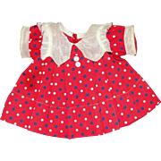 "Shirley Temple 6th Birthday Dress for 18"" Doll - NICE!"