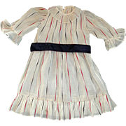 Gorgeous Older Dress for Larger Antique German or French Bisque Dolls