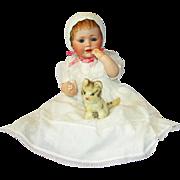 "SALE Outstanding Antique German Bisque 16"" Kestner Character Doll Mold # 247 ""Baby J"