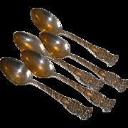 Vintage Sterling Silver Spoons