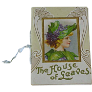 Art Nouveau Little Book Booklet