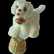 SOLD German Fur St. Bernard Dog for Doll