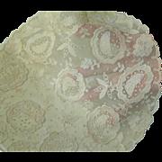 Vintage Pair of Net Lace Doilies