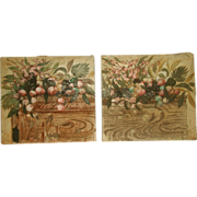 Matching Oil Paintings On Canvas Early 1900's Unframed