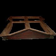 Teester Bed Canopy France 19th C Walnut Mahogany