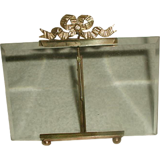 Bronze Glass Frame France 19th Century