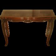 Dining Game Table Walnut Burl Flip Top Harrod's