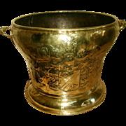 SOLD Scottish Planter 19th Century Hand Forged Brass Copper