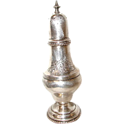 Silver Sugar Shaker Plated England 19th Century