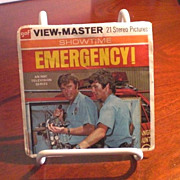 SOLD Emergency! View-Master 3-Reel Packet