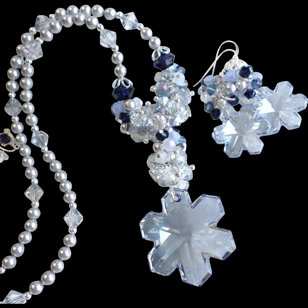 swarovski snowflake necklace lookup beforebuying