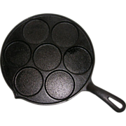 Vintage Cast Iron Plett Pan Made in USA