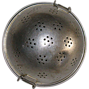 SOLD Vintage French Aluminum Rice Ball