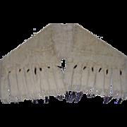SALE Luxurious Ermine Off Shoulder Fur Stole