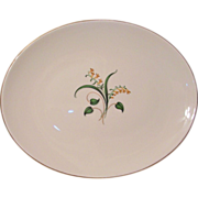 Edwin Knowles China Forsythia Serving Platter