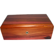 Lane Miniature Cedar Chest Treasure Box Montana