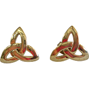 Solvar Irish Celtic Knot Trinity Earrings