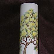 Vintage Clay Sketches Vase-California Pottery