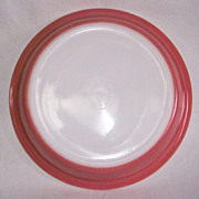 "Pink Pyrex 9"" Pie Plate"