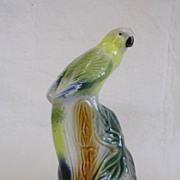 Vintage Brazilian Made Ceramic Bird Figurine