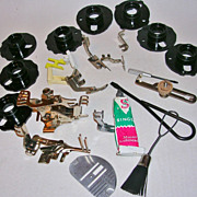 SALE Vintage Singer 403 Parts and Attachment Collection