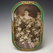 LARGE Art Nouveau Gilt Ormolu Picture Photo or Photograph Frame