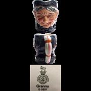 Royal Doulton Character Jug Granny Large Size D.5521
