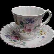 Arcadia Pattern Royal Doulton Demitasse Cup & Saucer