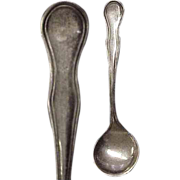 Sterling Silver Salt Spoon
